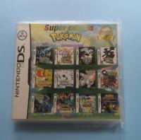 23 in 1 Games DS Dsi Lite 2DS XL 3DS XL Multi-Cartridge Nintendo Multicart NEW