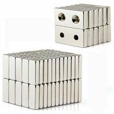UK 1-100Pcs Neodymium  Super Magnets N52 Grade Block Square Rare Earth