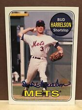 2012 Topps Archives Bud Harrelson Fan Favorites Auto New York Mets Great