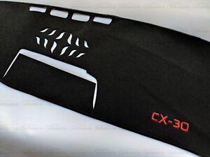 For Mazda CX30 Accessories Dashboard Mat Protector Cover Sun Shade Pad Car Trim