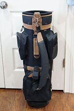 Bag Boy Hanover Golf Cart Bag Black and Brown