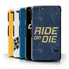 STUFF4 Back Case/Cover/Skin for Sony Xperia Go/ST27i/Street Car Racing