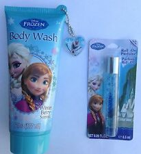Disney Frozen Anna & Elsa Body Wash & Roll On Perfume Bath Set