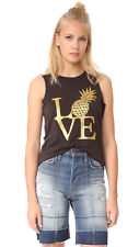 Chaser Pineapple Love Sleeveless Tank color Union Black size M NEW