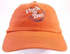 Norwood Orange Flick My Bic Lighers Baseball Cap Adjustable Strap Cotton NWOT