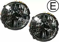 JP Headlight Left Right Black Set Fits VW BEETLE CAROCHA COCCINELLE 70-93