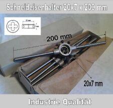 Schneideisenhalter 20 x 7 mm DIN 225 für Schneideisen M4,5-M6 Zinkdruckguß