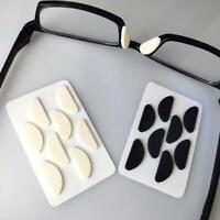 4 Pairs Nose Sponge Soft Cushion Glasses Stick-on Nose Pads T8J7 1Q2 H0D0 I6C5