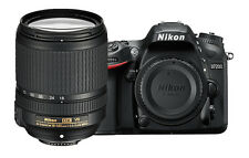 Nikon D7200 24.2 MP Digital SLR Camera - Black (Kit with AF-S 18-140mm f/3.5-5.6G ED VR Lens)