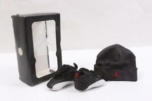 Nike Air Jordan 12 Retro Gift Pack 378139-001 Toddler Size 2C *NEW*