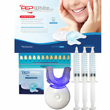 PEP-WHITE - ULTRA STRONG Teeth Whitening Kit Advanced Gel With AFTERCARE GUIDE