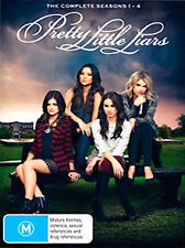Pretty Little Liars the complete Series Seasons 1, 2, 3 & 4 DVD Box Set  R4 New
