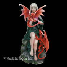 *DRAGONKIN* Goth Dragon Fairy Fantasy Art Resin Figurine By Anne Stokes