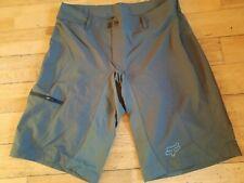 Fox Racing High Frequency Trail Riding Cycling Shorts Slate Grey 34 36 38 BNWOT