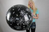 """1 x Cattex 32"""" Riesenluftballon SPIDER & NET * SPINNENNETZ + Verschluss/+Clip"""