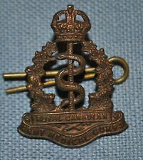 Wwi Royal Canadian Army Medical Corps Ramc Officer's Insignia
