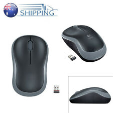 Wireless Receiver Logitech Mouse M185 2.4G Easy Compact For PC Laptop Mac Linux