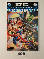 DC Universe Rebirth Special Midnight Variant Rare NM 1st Print Lee DC