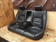JAGUAR 04-07 XJ8 XJ XJR X350 REAR LEATHER SEATS SET CUSHION HEATED ASSEMBLY OEM