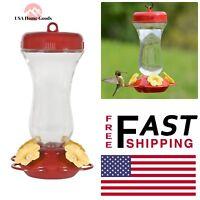 Perky Pet Petunia Glass Top-Fill Hummingbird Feeder 16 oz. Glass Container