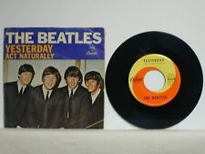 "The Beatles - Yesterday/ Act Naturally, Capitol 5498, 1965 7"" 45 rpm"