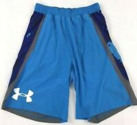 Men's Under Armour Heat Gear Lightweight Loose Fit Shorts 100% Polyester Size S