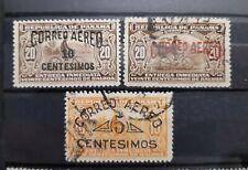 PANAMA . lote de sellos antiguos de correo aéreo .