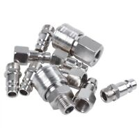 10x raccord coupleur rapide compresseur pneumatique pompe systeme Forme Europ P8