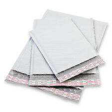 50 #1 Poly Bubble Padded Envelopes Mailers Self Seal Shipping Bags 7.25x12