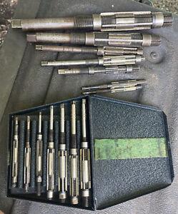 Beard USA 7pc + Bonus Adjustable Blade Reamer Set Machinist Tool Box Find