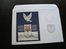 SUISSE - enveloppe 1er jour 16/5/1995 (bloc n° 27) switzerland