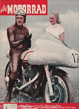 Das Motorrad Heft 8 23.April 1955 Test Hercules 250ccm Ilo M2x125 BMW Isetta