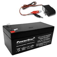 12V 3AH SLA Battery replaces BP3-12 BP3.6-12 CF12V2.6 CFM12V3 CP1232 + CHARGER