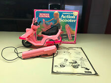 Old Vtg Arco Fashion Doll Remote Control Barbie Action Scooter Toy Original Box