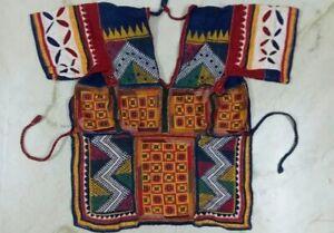 Ethnic Banjara Tribal Kuchi Hvy Hand span Emb Indian Traditional back Less Choli