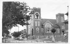 Jersey Shore Pennsylvania United Brethren Church Real Photo Postcard K68798
