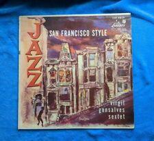 JAZZ SAN FRANCISCO STYLE LP Virgil Gonsalves Sextet LJH 6010