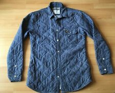 VOI Jeans Padded Quilted Cotton Over Shirt /Jacket. Long Sleeved. UK Size Large