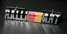 RALLIART Grille Badge Emblem Lancer Mivec Evolution VRM