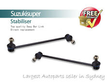 2 Front Left + Right Sway Bar Link Kit Hyundai Accent 06-09 Stabiliser Pair