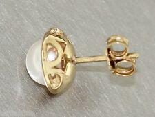 Pearl Stud Earrings Gold 585 with Perlenohrschmuck