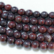 "Wholesale 10mm Bloodstone Round Loose Beads 15"" ##QF045"