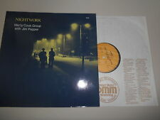 LP Jazz Marty Cock Group - Nightwork (6 Songs) ENJA + Jim Pepper