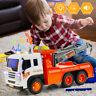 Enfants Inertia Ville Route Remorque Voiture Jouet Modèle Super Camion-dépanneus