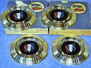 1962 Buick LeSabre Invicta Electra 225 Wheel Cover Center Medallion Inserts NOS