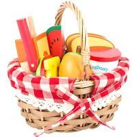 Legler Picknickkorb mit Schneide-Lebensmittel ab 3 Jahre 11282