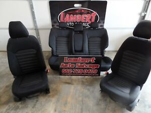DRIVER Front AND PASSENGER Seat Bucket  AND REAR SEATS 13-16 FUSION