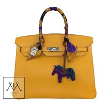 237529f1376 Hermes Birkin Bag 35cm Jaune D Or Yellow Candy Collection Limited Edition  Epsom