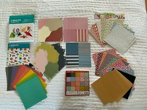Origami Paper Bundle 260 Sheets Assorted Japanese Paper + folding instructions