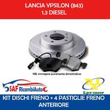 KIT PASTIGLIE FRENO E DISCHI ANTERIORI ATE FIAT PANDA 169/_ 1.2 60CV 44KW